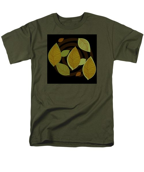 Falling Into Color Men's T-Shirt  (Regular Fit) by Kandy Hurley