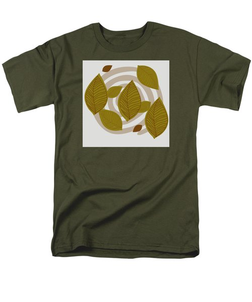 Falling Leaves Men's T-Shirt  (Regular Fit) by Kandy Hurley