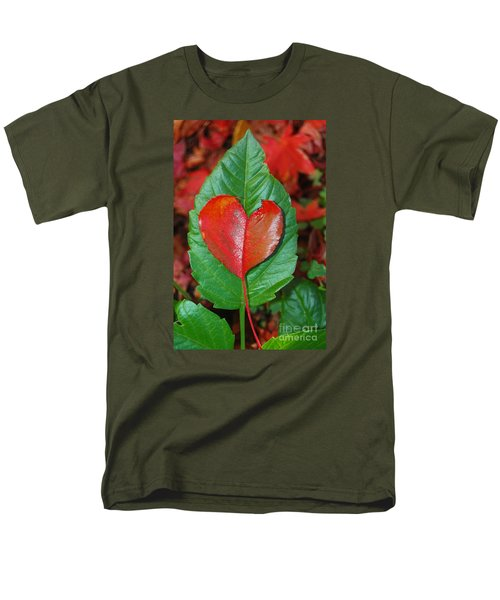 Fall's Vibrant Contrast Men's T-Shirt  (Regular Fit) by Debra Thompson