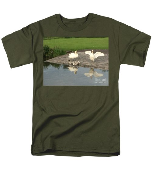 Men's T-Shirt  (Regular Fit) featuring the photograph Family Outing by David Grant