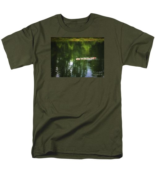 Men's T-Shirt  (Regular Fit) featuring the photograph Family Values  ... by Chuck Caramella
