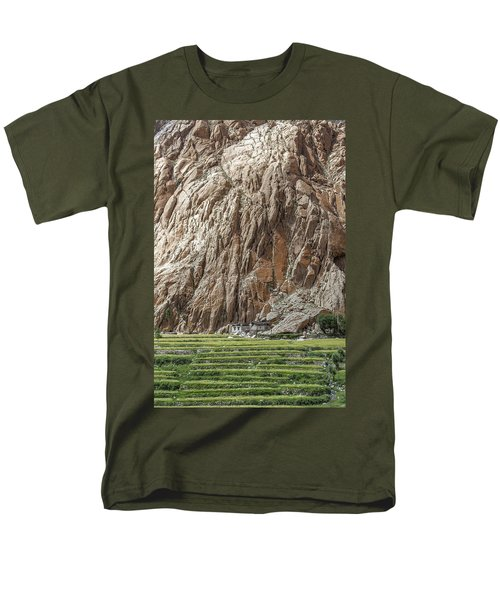 Farm House Men's T-Shirt  (Regular Fit) by Hitendra SINKAR