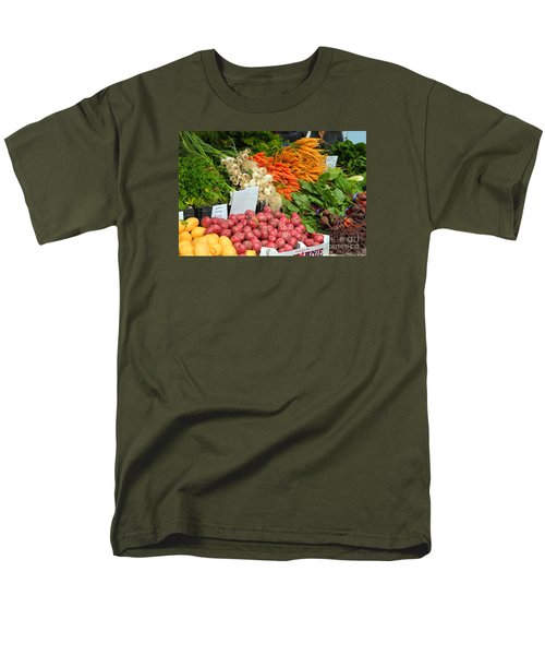 Men's T-Shirt  (Regular Fit) featuring the photograph Farmer's Market by Jeanette French