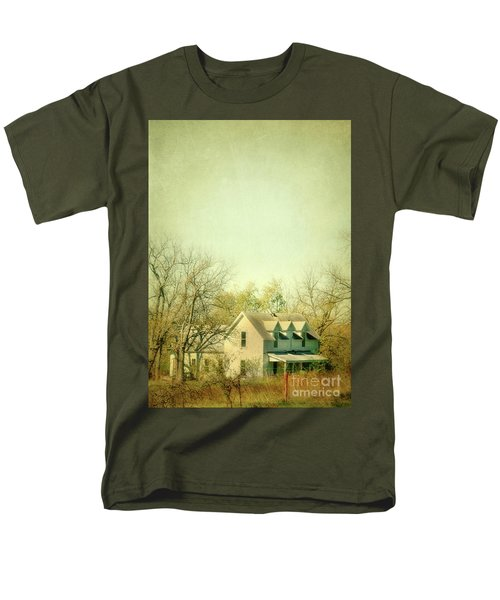 Men's T-Shirt  (Regular Fit) featuring the photograph Farmhouse In Arkansas by Jill Battaglia