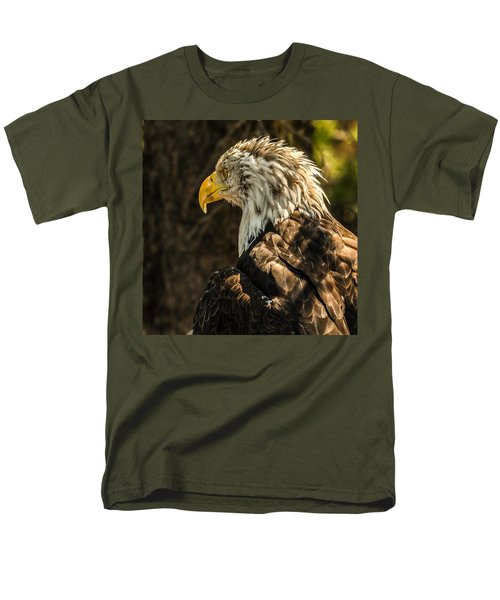 Men's T-Shirt  (Regular Fit) featuring the photograph Feathers In Light by Yeates Photography