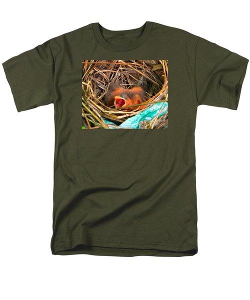 Feed Me Men's T-Shirt  (Regular Fit) by Audrey Van Tassell