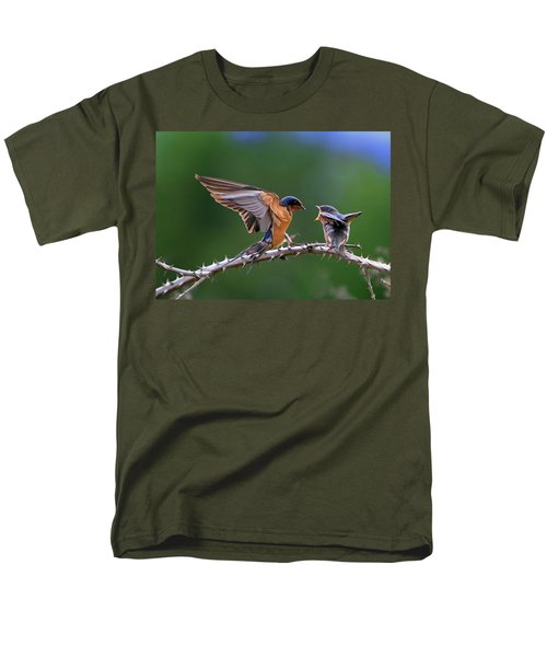 Men's T-Shirt  (Regular Fit) featuring the photograph Feed Me by William Lee