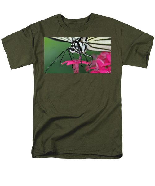 Men's T-Shirt  (Regular Fit) featuring the photograph Feeding Rice Paper by Richard Bryce and Family