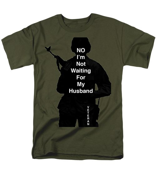 Men's T-Shirt  (Regular Fit) featuring the photograph Female Veteran by Melany Sarafis
