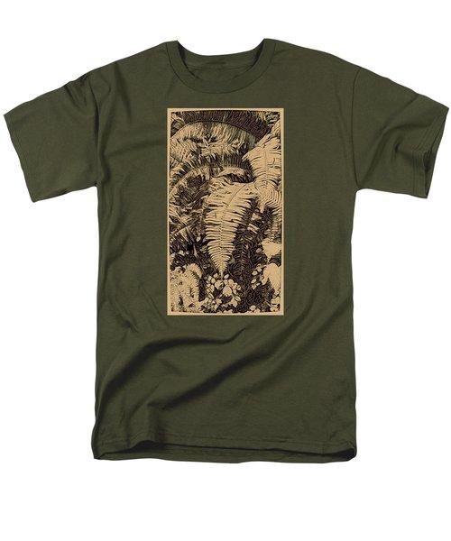 Fern Art No4 Men's T-Shirt  (Regular Fit)