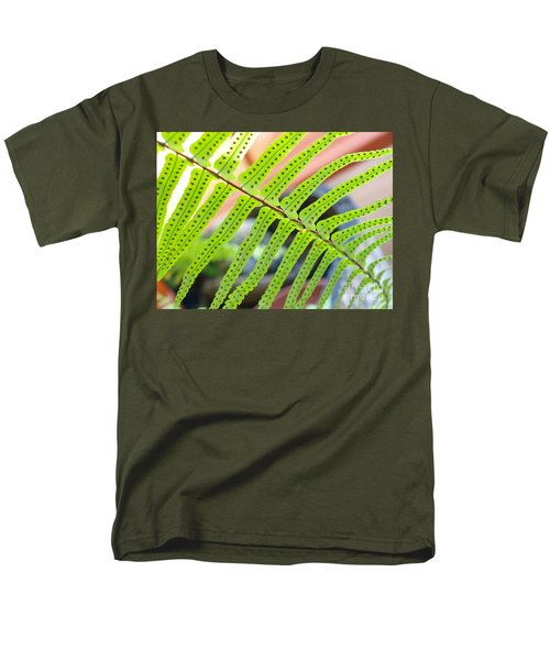 Men's T-Shirt  (Regular Fit) featuring the photograph Fern by Trena Mara