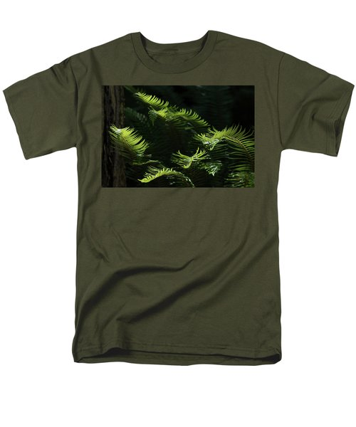 Ferns In The Forest Men's T-Shirt  (Regular Fit) by Keith Boone