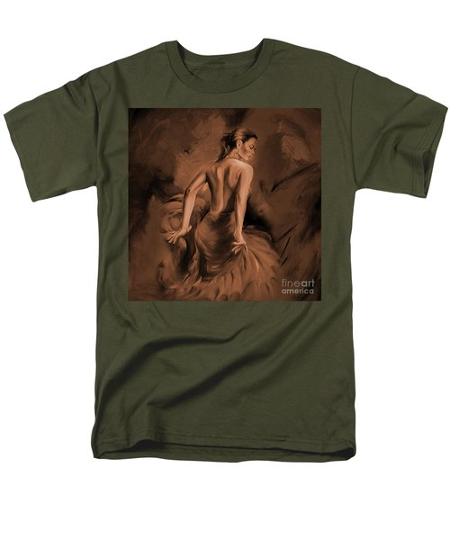 Men's T-Shirt  (Regular Fit) featuring the painting Figurative Art 007dc by Gull G
