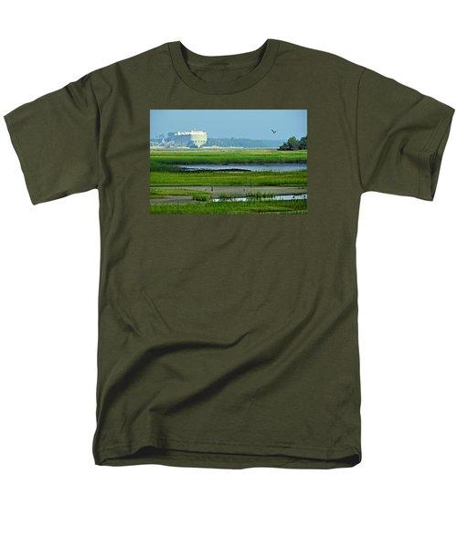 Men's T-Shirt  (Regular Fit) featuring the photograph Finding Balance by Laura Ragland