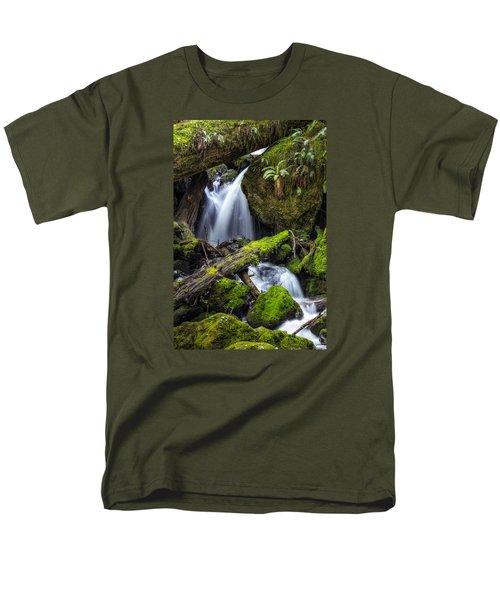 Finds A Way Men's T-Shirt  (Regular Fit) by James Heckt