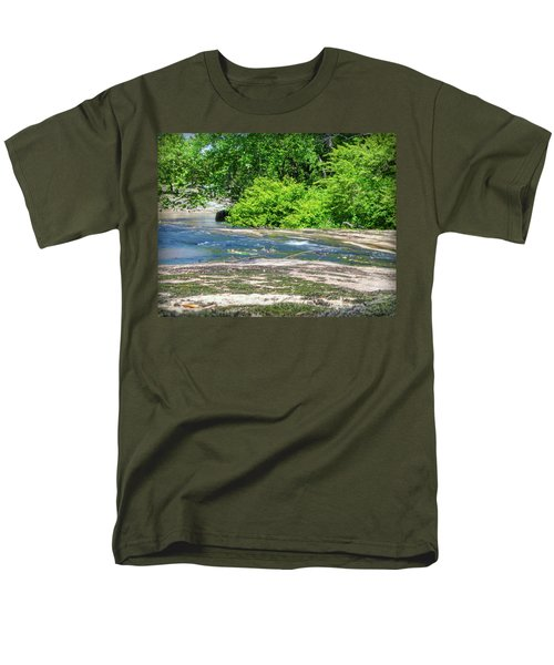 Fine Creek No. 3 Men's T-Shirt  (Regular Fit) by Laura DAddona