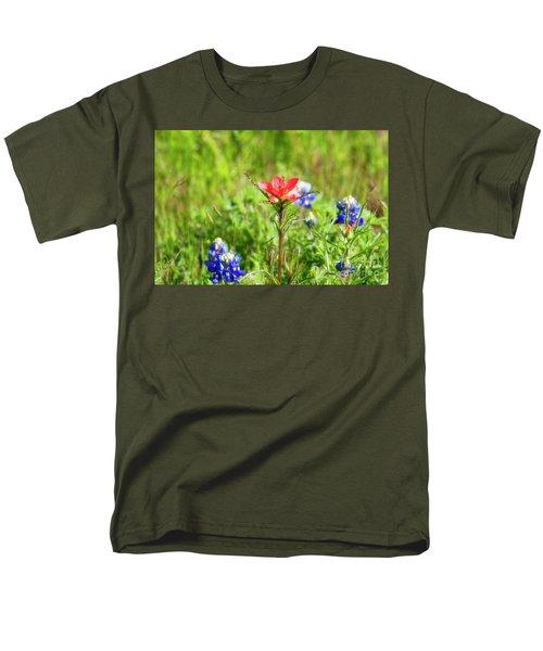 Fire Cracker Men's T-Shirt  (Regular Fit) by Joan Bertucci