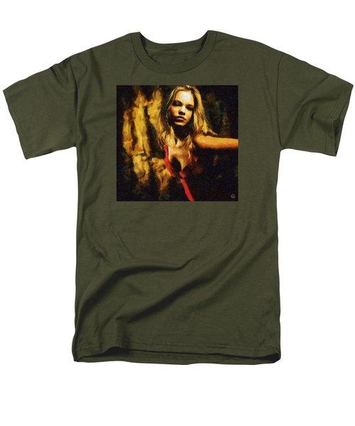 Fire Dance Men's T-Shirt  (Regular Fit) by Gun Legler