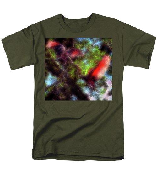 Fire Spirits 5 Men's T-Shirt  (Regular Fit) by William Horden