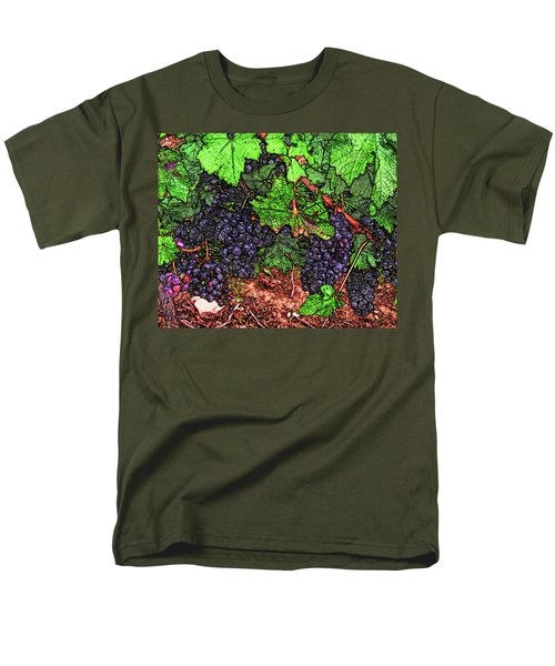 First Came The Grape Men's T-Shirt  (Regular Fit)