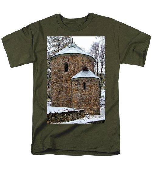 First Snow Men's T-Shirt  (Regular Fit) by Mariola Bitner