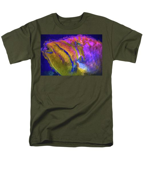 Men's T-Shirt  (Regular Fit) featuring the photograph Fish Paint Dory Nemo by David Haskett