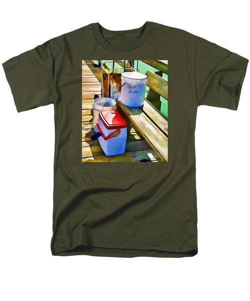 Fisherman's Buckets Men's T-Shirt  (Regular Fit) by Rena Trepanier