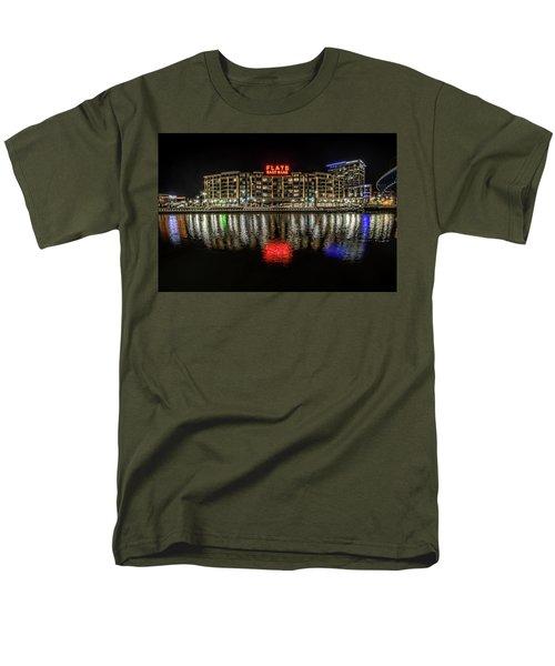 Flats East Bank Men's T-Shirt  (Regular Fit) by Brent Durken