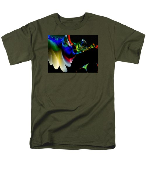 Men's T-Shirt  (Regular Fit) featuring the digital art Flight Of The Phoenix by Mario Carini