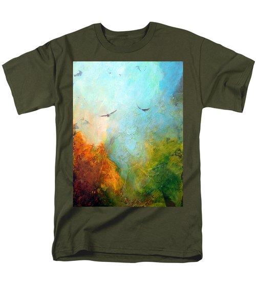 Flights Of Fancy Men's T-Shirt  (Regular Fit) by Dina Dargo