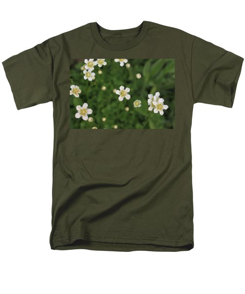 Men's T-Shirt  (Regular Fit) featuring the photograph Floating In Green by Shari Jardina