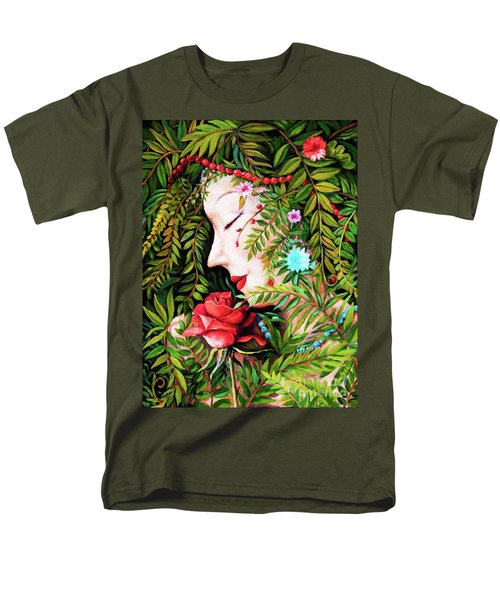 Flora-da-vita Men's T-Shirt  (Regular Fit) by Igor Postash
