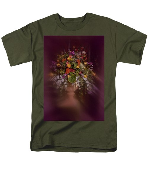 Floral Arrangement No. 2 Men's T-Shirt  (Regular Fit) by Richard Cummings