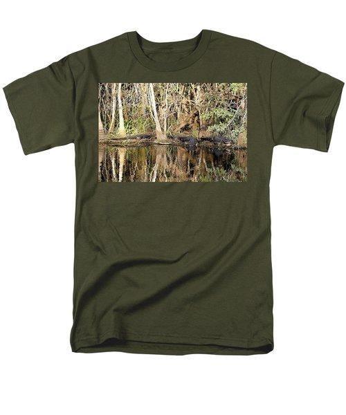 Florida Gators - Everglades Swamp Men's T-Shirt  (Regular Fit) by Jerry Battle