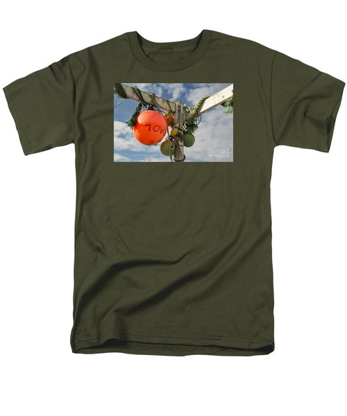 Men's T-Shirt  (Regular Fit) featuring the photograph Flotsam And Jetsam by Brian Roscorla