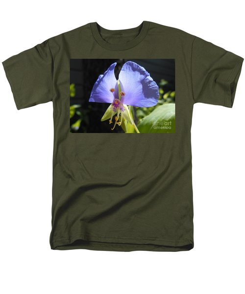 Men's T-Shirt  (Regular Fit) featuring the photograph Flower Face by Felipe Adan Lerma