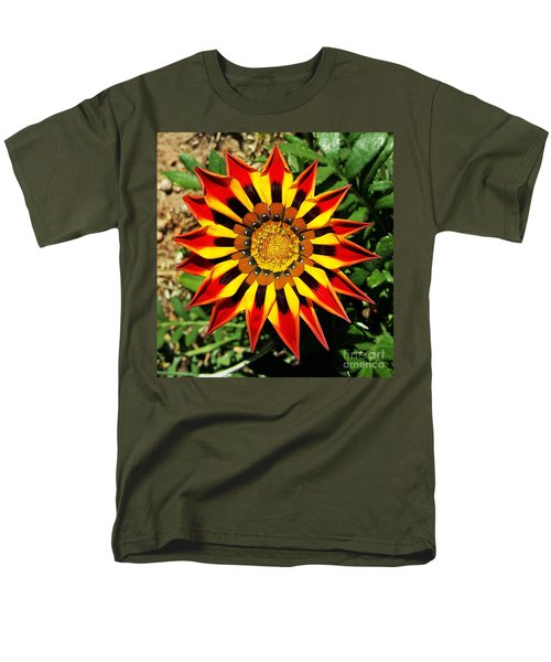 Flower -  Made In Nature Men's T-Shirt  (Regular Fit) by Jasna Gopic