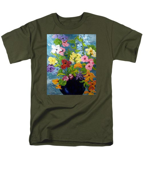 Flower Power Men's T-Shirt  (Regular Fit) by Diane Arlitt