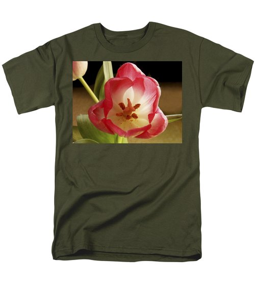 Men's T-Shirt  (Regular Fit) featuring the photograph Flower Tulip by Nancy Griswold