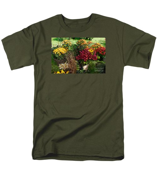 Flowers For Sale Men's T-Shirt  (Regular Fit) by David Blank