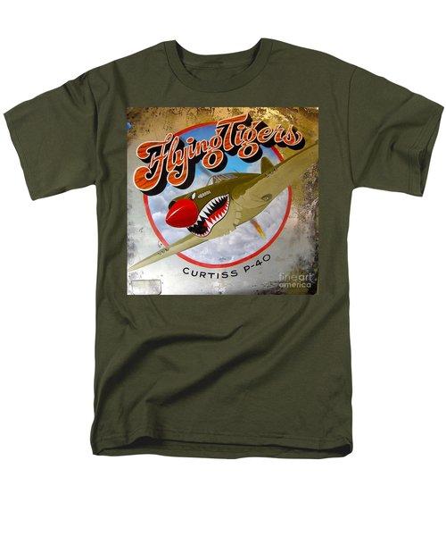 Flying Tigers Men's T-Shirt  (Regular Fit) by Alan Johnson