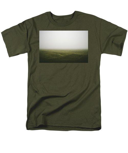 Foggy Autumn Morning Men's T-Shirt  (Regular Fit) by Cesare Bargiggia