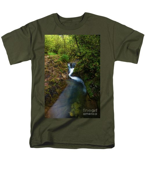 Men's T-Shirt  (Regular Fit) featuring the photograph Follow It I by Yuri Santin