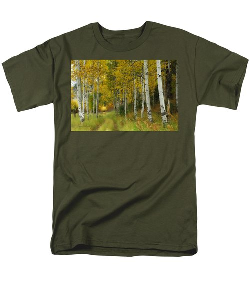 Follow The Light Men's T-Shirt  (Regular Fit) by Donna Blackhall