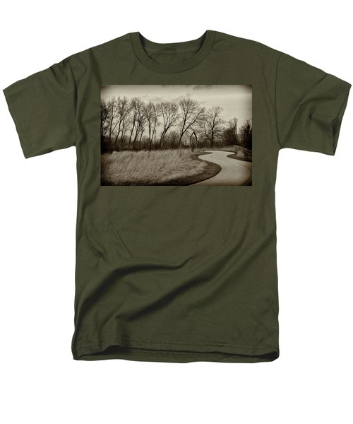 Follow The Path Men's T-Shirt  (Regular Fit) by Elvira Butler
