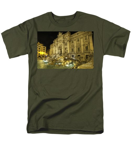 Fontana Di Trevi 1.0 Men's T-Shirt  (Regular Fit) by Yhun Suarez