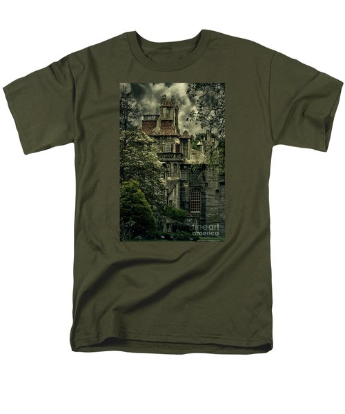 Fonthill With Storm Clouds Men's T-Shirt  (Regular Fit) by Debra Fedchin
