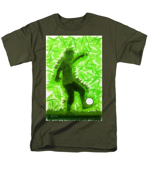 Football Player - Da Men's T-Shirt  (Regular Fit)