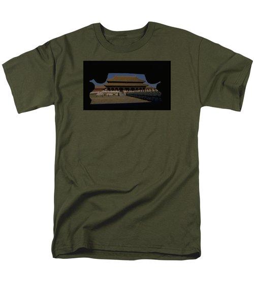 Forbidden City, Beijing Men's T-Shirt  (Regular Fit)