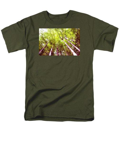 Men's T-Shirt  (Regular Fit) featuring the photograph Forest 2 by Jean Bernard Roussilhe